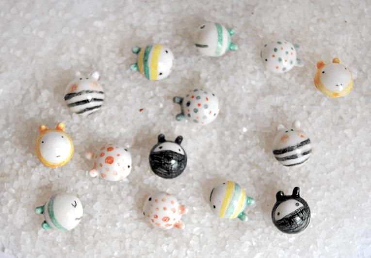 Silver Small Ball Earrings