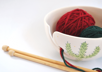 Cactus Yarn Bowl