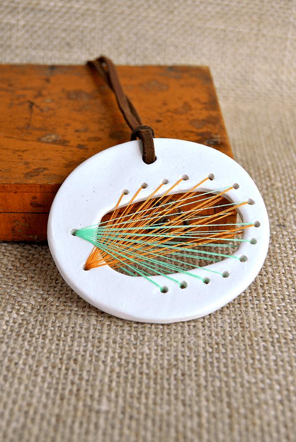 String Art Pendant