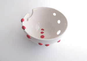 Ladybugs Yarn Bowl