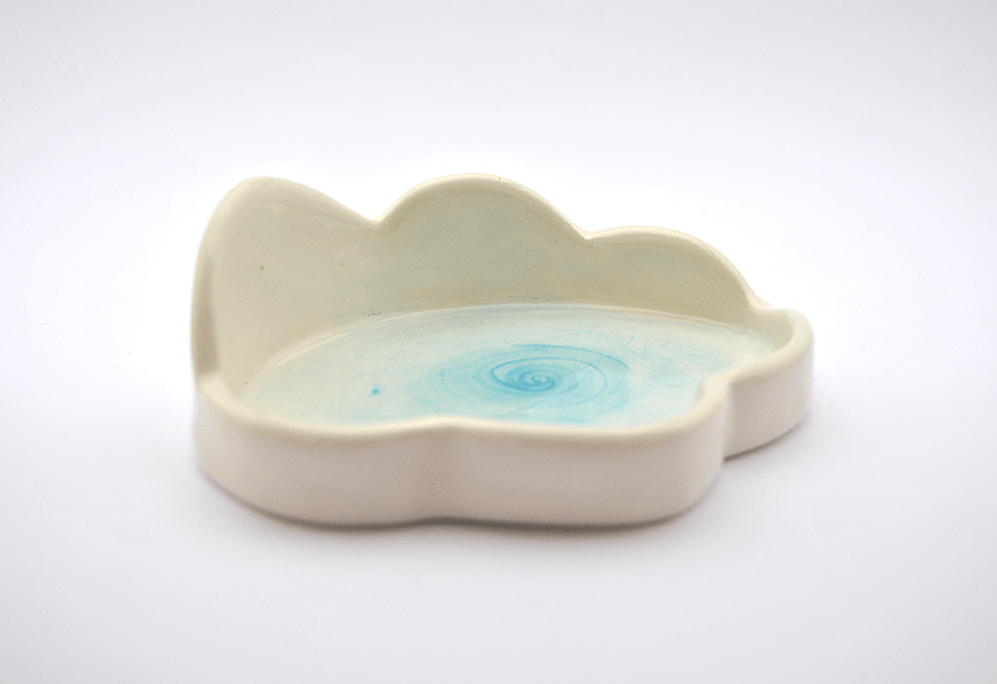 Turquoise Cloud Spoon Rest