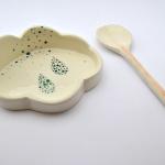 Green Drops Cloud Spoon Rest