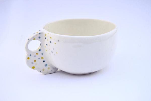Breakfast Mug with Cloud Handle