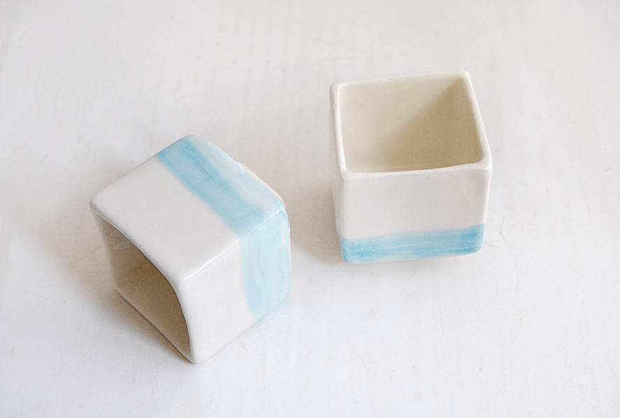 Japanese Cube Tea Cups