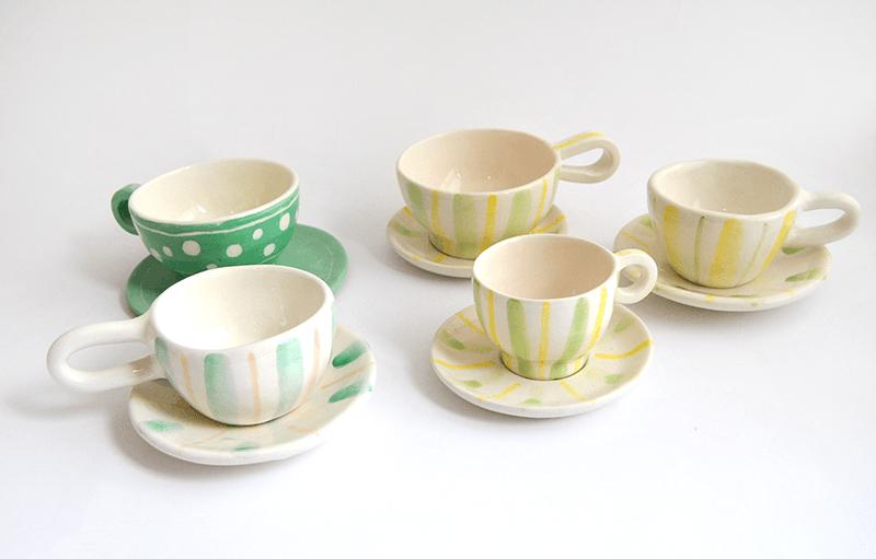Rustic Handmade Coffe or Tea Cups