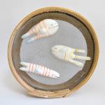 Imanes Peces Rayas Ceramica
