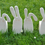 White Rabbit Planters
