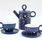 Electric Blue Coffe or Tea Set