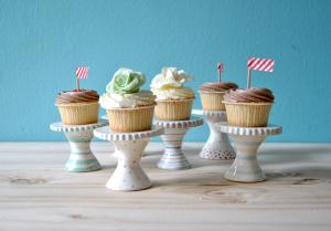 Ceramic Cupcake Stands