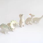 Jurassic Clay Dinosaur Figures