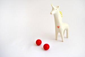 Figura Unicornio Corazón