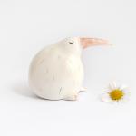 Miniatura Kiwi de Ceramica