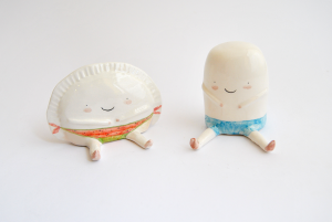 Summery Croqueta and Empanadilla Figures