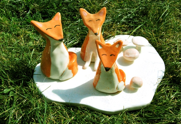 familia de zorros