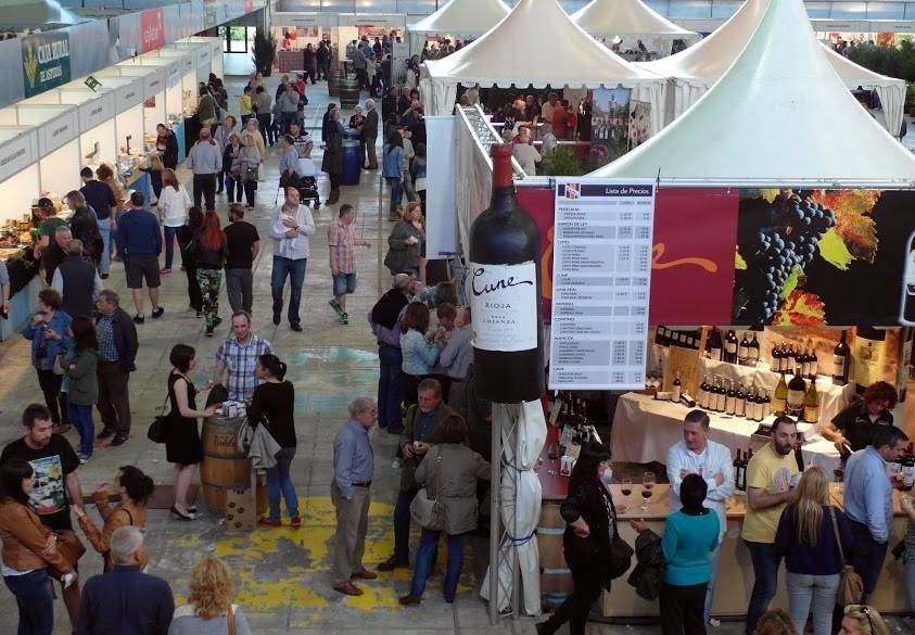 Asistentes Feria Queso Vino y Ceramica Aviles 2016