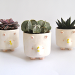 Ceramic Rhino Planter
