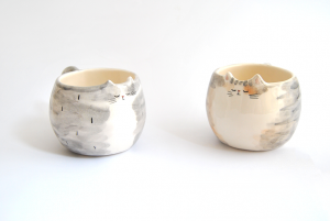 Mugs Gato Personalizados
